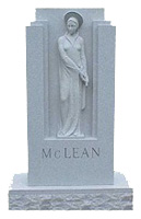Sculpture or Hand Carved Memorial Example